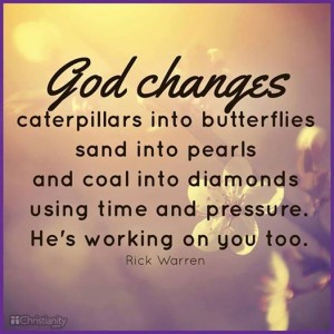 God changes